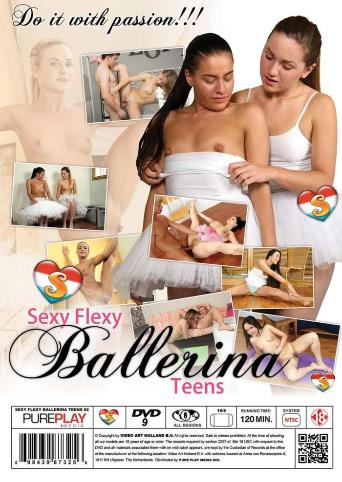 Sexy Flexy Ballerina Teens 2 from Seventeen back cover