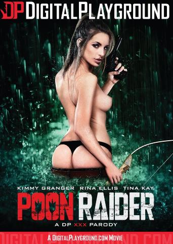 Poon Raider from Digital Playground front cover
