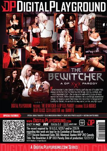 The Bewitcher from Digital Playground back cover