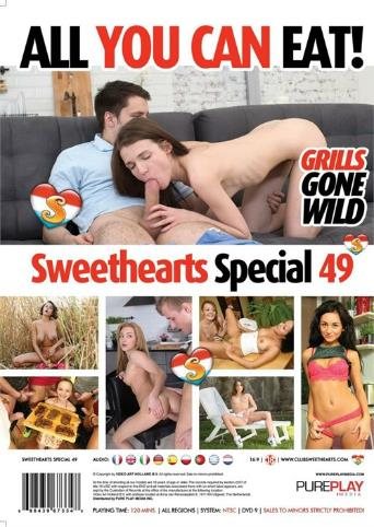 Sweethearts Special 49 All You Can Eat from Seventeen back cover