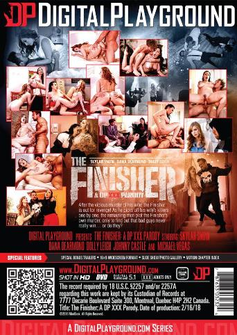 The Finisher from Digital Playground back cover