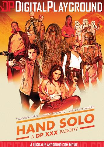 Hand Solo A DP XXX Parody from Digital Playground front cover