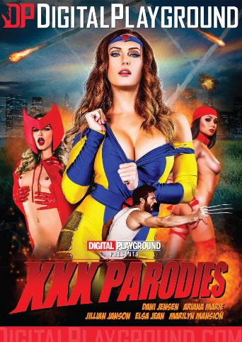 XXX Parodies from Digital Playground front cover
