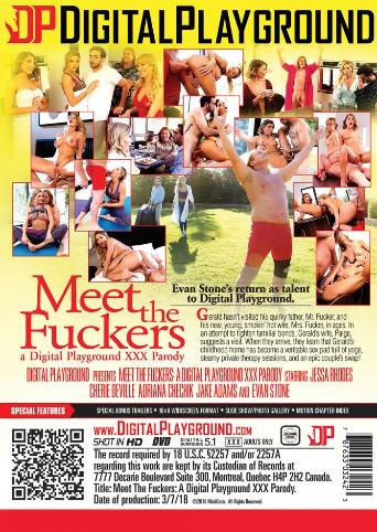 Meet The Fuckers from Digital Playground back cover
