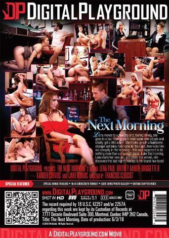 The Next Morning from Digital Playground back cover