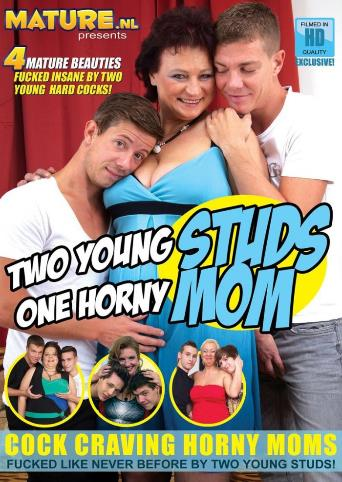 Two Young Studs One Horny Mom from Mature front cover