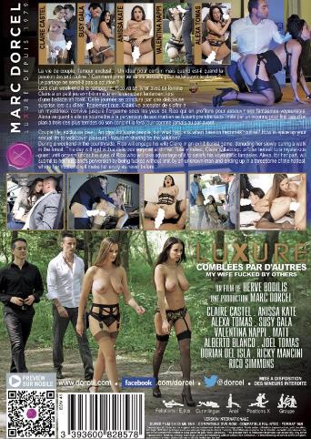 Luxure My Wife Fucked By Others from Marc Dorcel back cover