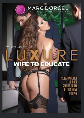 Luxure Wife To Educate from Marc Dorcel front cover