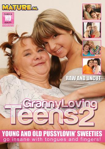 Granny Loving Teens 2 from Mature front cover