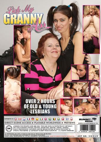 Lick My Granny Ass from Mature back cover