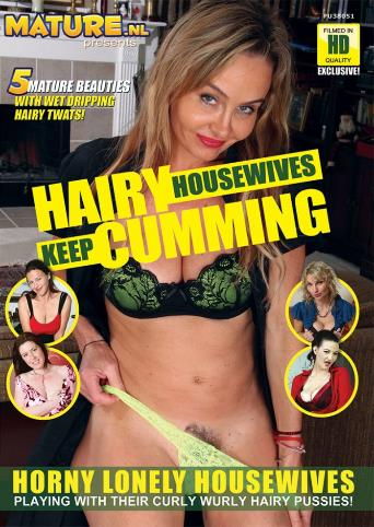 Hairy Housewives Keep Cumming from Mature front cover