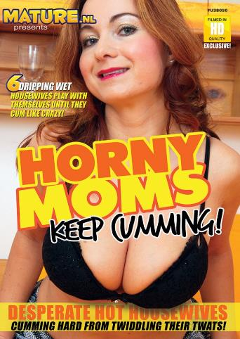 Horny Moms Keep Cumming from Mature front cover