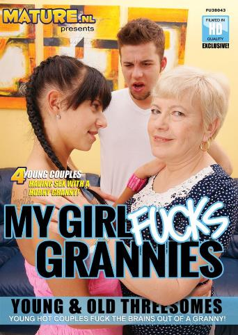 My Girl Fucks Grannies from Mature front cover