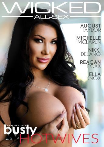 Axel Braun's Busty Hotwives from Wicked front cover