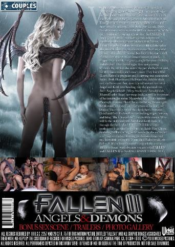 Fallen 2 Angels And Demons from Wicked back cover
