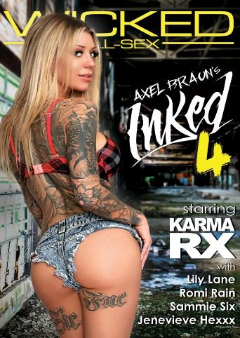 Axel Braun's Inked 4 from Wicked front cover