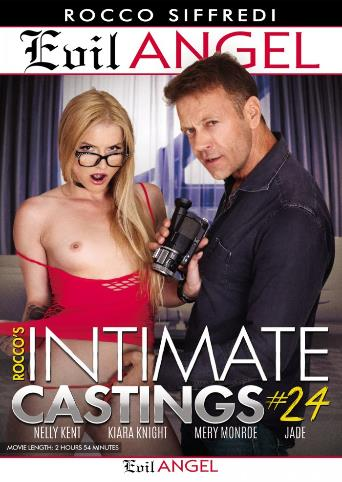 Rocco's Intimate Castings 24 from Evil Angel: Rocco Siffredi front cover