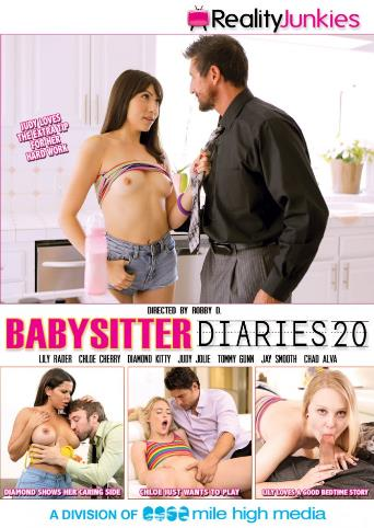 Babysitter Diaries 20 from Reality Junkies front cover