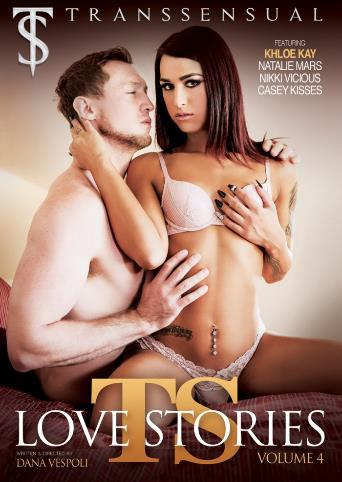 Ts Love Stories 4 from Transsensual front cover