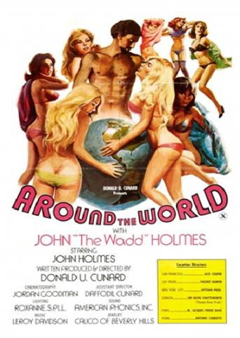 Around The World With Johnny Wadd from Vinegar Syndrome front cover