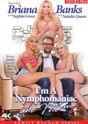 I'm A Nymphomaniac Like Mom 4 from Devil's Film front cover