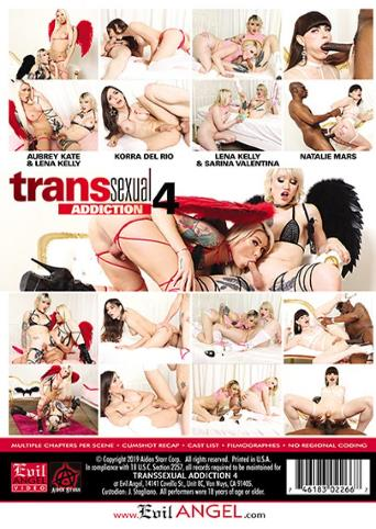 Transsexual Addiction 4 from Evil Angel back cover