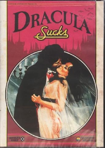 Dracula Sucks from Vinegar Syndrome front cover
