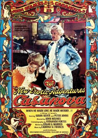 Erotic Adventures Of Casanova from Vinegar Syndrome front cover