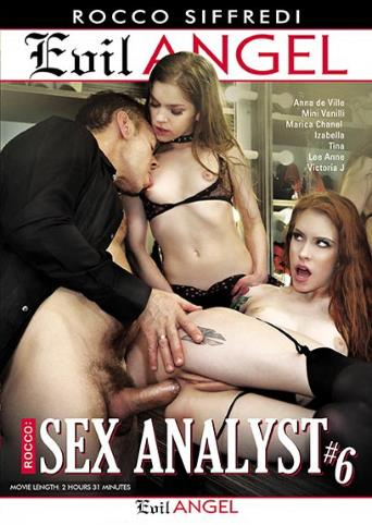 Sex Analyst 6 from Evil Angel: Rocco Siffredi front cover