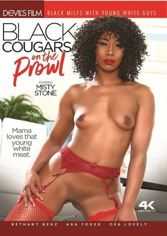 Black Cougars On The Prowl from Devil's Film front cover