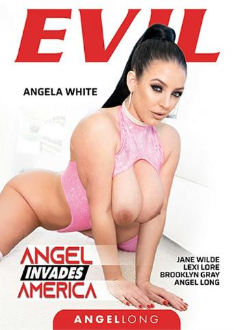Angel Invades America from Evil Angel front cover