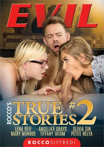 Roccos True Stories 2 from Evil Angel: Rocco Siffredi front cover