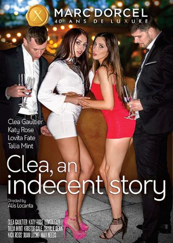 Clea An Indecent Story from Marc Dorcel front cover