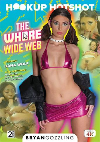 Hookup Hotshot The Whore Wide Web from Evil Angel front cover
